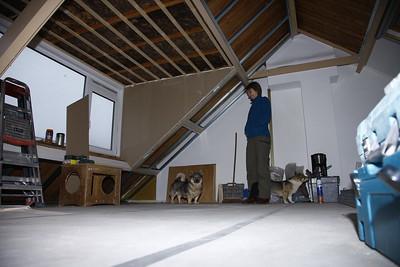 Dag 2 ~ isolatie oude dakkapel