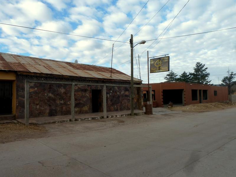 the Hotel El Dorado in Yecora.