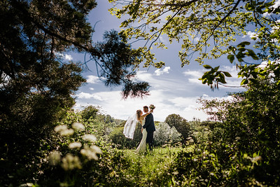 Bethan and Oliver Orchardleigh House Wedding