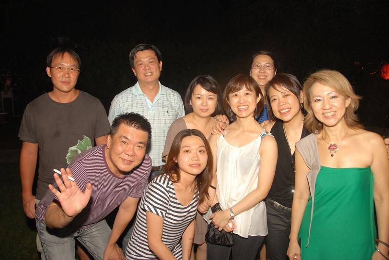 Left to Right: Jerry, Chiang, Rachel, Siu Lian, Dan Fui, Fui Chu and Po Li Front: Hazri & Eong Hwee ...