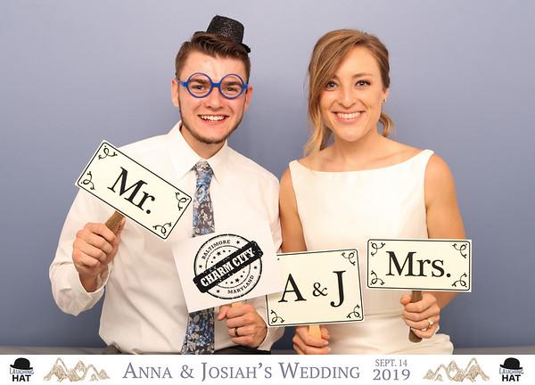 Anna & Josiah's Wedding