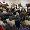 More than 70 persons wandered out in the relatively balmy weather of early April to attend the monthly meeting of the Spearfish Area Historical Society.  We normally meet on the first Tuesday of every month September through May.
