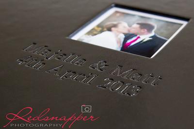 The Italian Leather Wedding Album (Platinum Package)