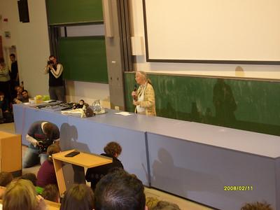 Jane Goodall előadás (2008.02.11.)