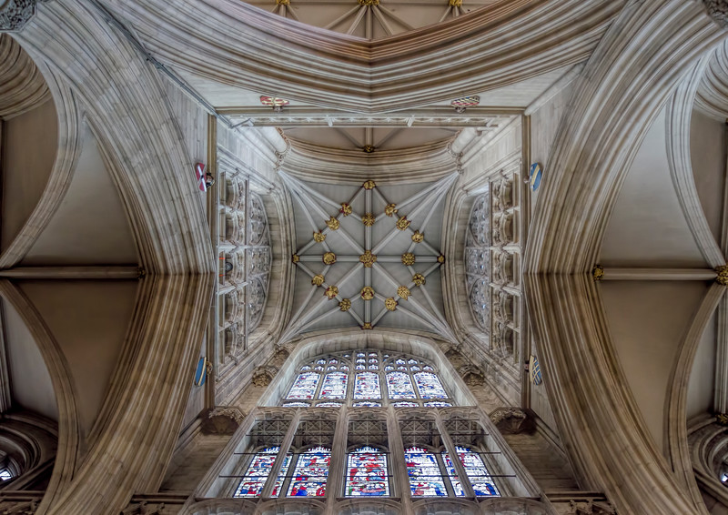 Looking Up York Minster