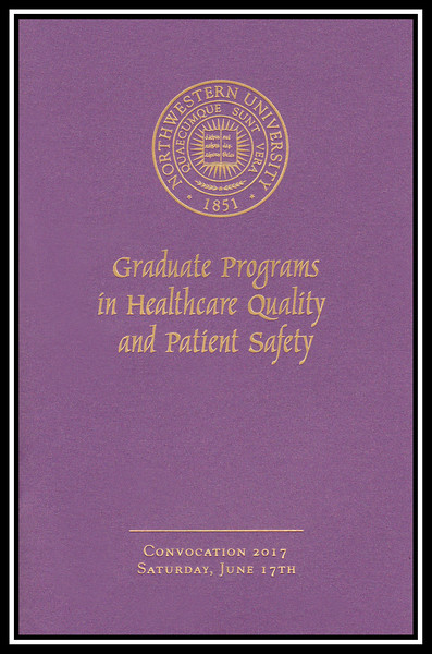 2017 Healthcare Quality and Patient Safety Graduate Programs Convocation