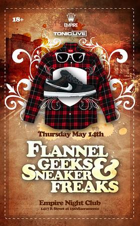 Flannel Geeks And Sneaker Freaks @ Empire - 5.14.09