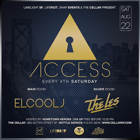 Access at CellarSF 8.22.15
