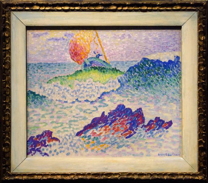 Henri-Edmond Cross, The Shipwreck, 1906-07