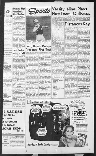 Daily Trojan, Vol. 44, No. 91, March 10, 1953