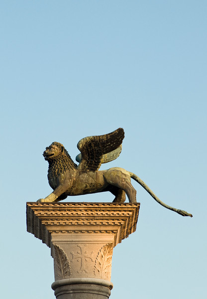 Winged Lion of St. Mark, Venice, Italy