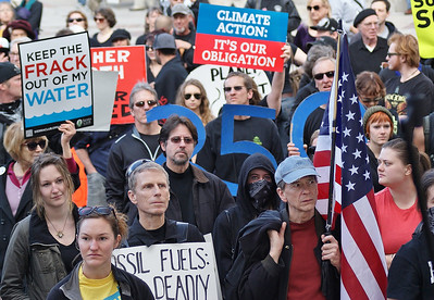 """Forward On Climate"" march - Denver, Colorado - 2/17/13"