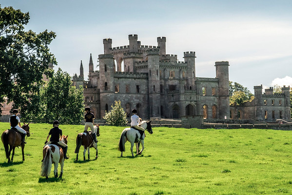 uk,  ireland, lowther castle