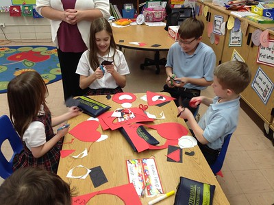 Project with Kindergarten and Fifth Grade