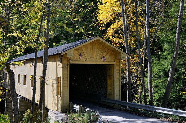 Ashtabula Covered Bridges - Fall
