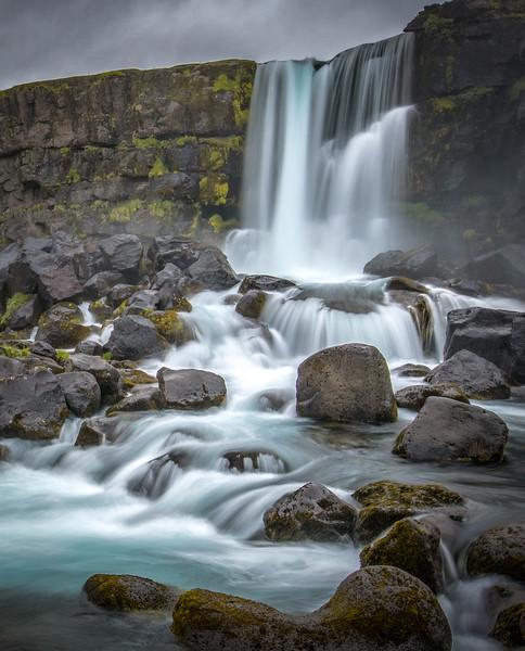 Oxararfoss. Iceland.