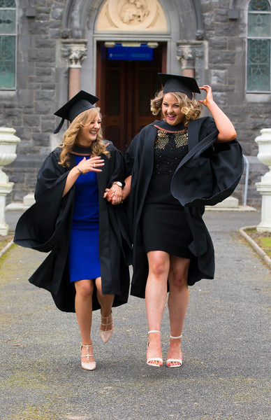 03/11/2017. Waterford Institute of Technology Conferring are Eilís Lawlor Castlecomer, Co. Tipperary and Eva Hayes Kilrush Co. Clare. Picture: Patrick Browne.