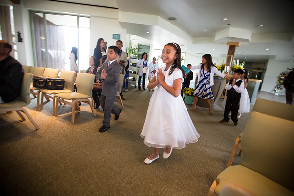 Mia's First Communion 05/09/15