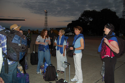 Arrival into Lusaka