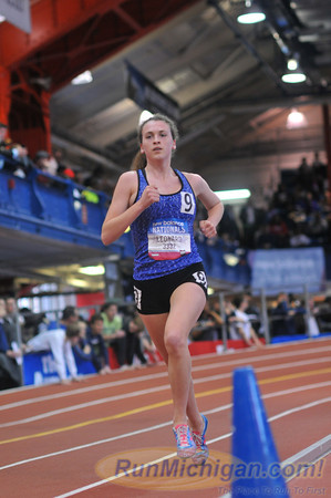 Girls' 2 Mile Championship Section 2, Michigan Only - 2014 NB Indoor Nationals