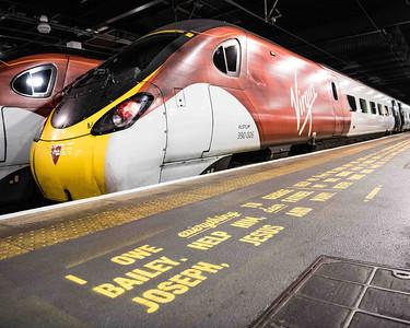 22/11/18 - Virgin Trains - It's a wonderful Line campaign