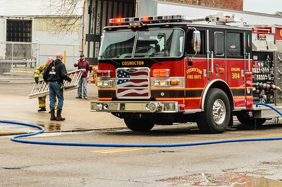 04-11-16 Coshocton FD Dock Fire