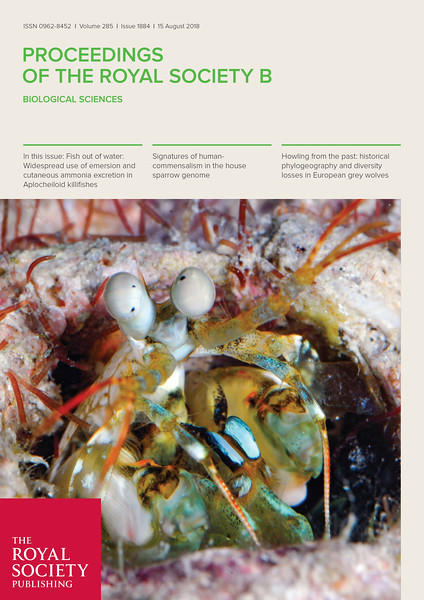 Bok et al, 2018. Cover Photo by Roy Caldwell.