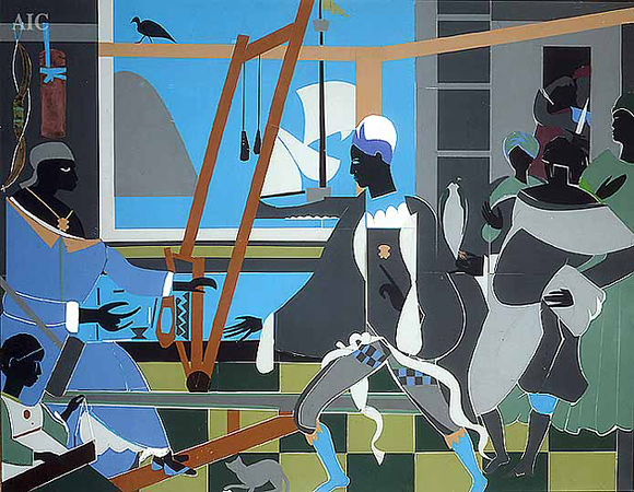 "Romare Bearden, ""The Return of Odysseus,"" 1977"