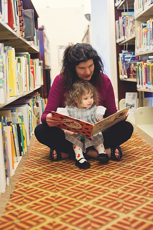Library with Grandma