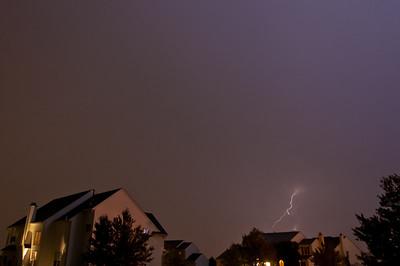 Lightning Over Royersford - August 2010