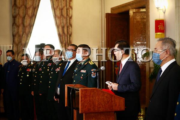 """БХЯ, """"Монгол цэргийн нэгдсэн холбоо"""", ШШГЕГ, Цэргийн төв эмнэлэг,  ХХЕГ, ОБЕГ-аас БНХАУ-д мөнгөн тусламж хандивлалаа"""