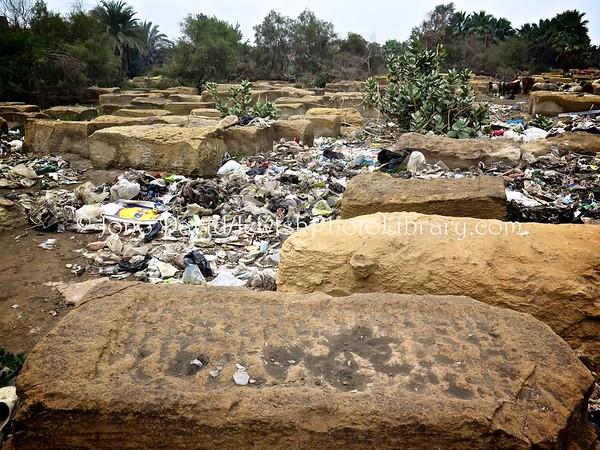 EGYPT, Cairo. Bassatine Jewish Cemetery (2.2016)
