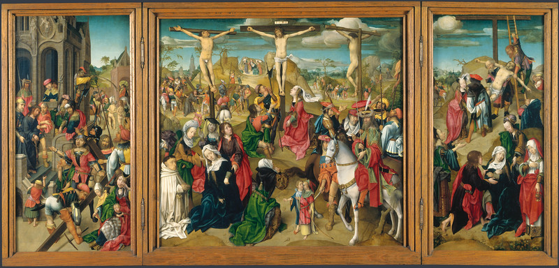 Triptych: Scenes from the Passion of Christ
