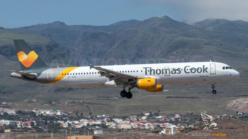 Thomas Cook Scandinavia / Airbus A321-211 / OY-VKC