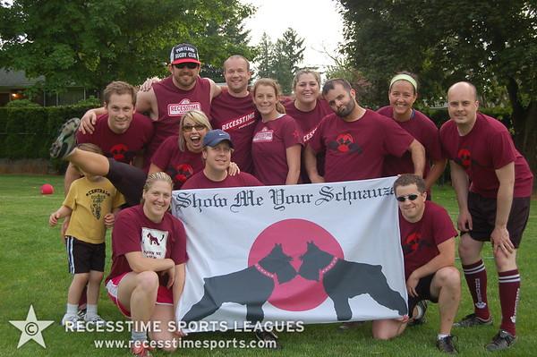 Summer Kickball Thursday 2011