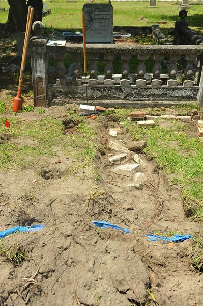 Oak Grove Cemetery New Unknown Grave Identified 08-11-18