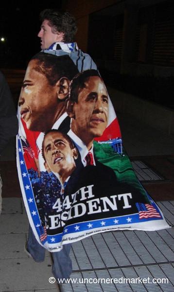 Obama Towel - Washington DC, USA