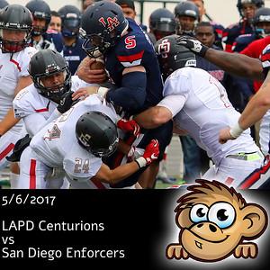 2017-05-06 LAPD Centurions vs San Diego Enforcers