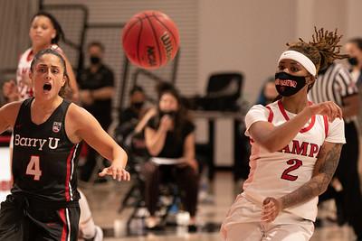 2020-21 Women's Basketball vs. Barry