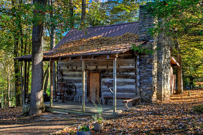 Dancing Stone log cabin