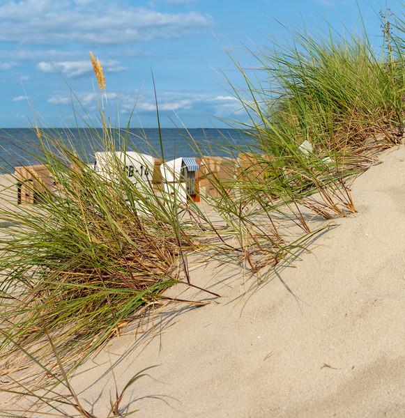 Strandkorbidylle / seaside idyll