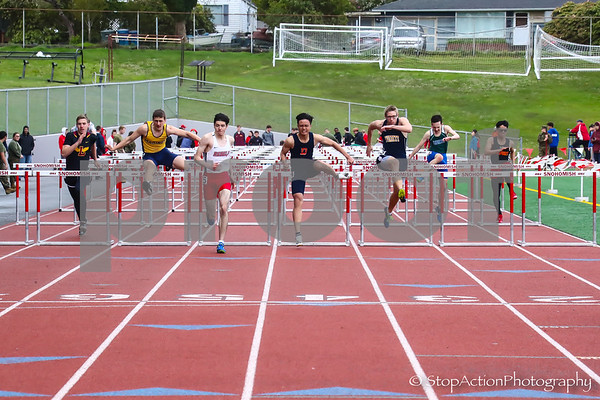 2018-04-21 Eason Invitational Boys Track Individual Events