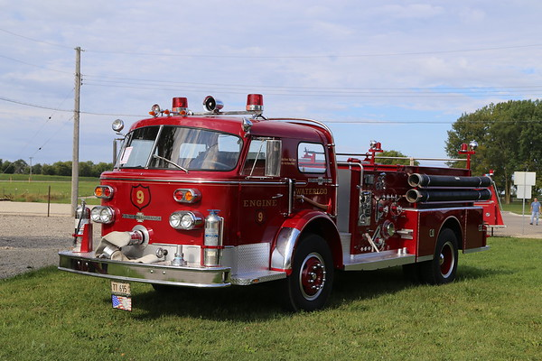 2019 Illinois Railway Museum/Fire show, Union  9-7-2019