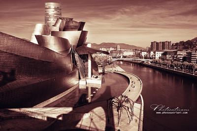 Purple Guggenheim Bilbao