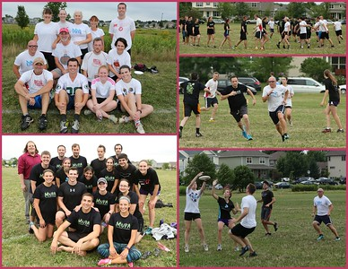 Ultimate Frisbee: DiscGrace & 12 Inch Disc @NorthStar Park 07.28.2016