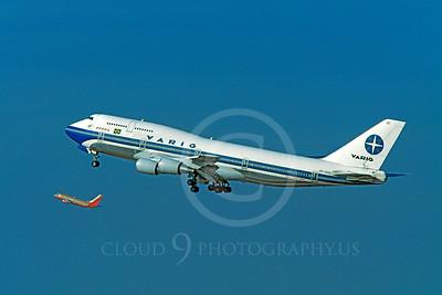 Varig Airline Boeing 747 Airliner Pictures
