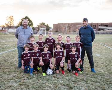 Rapids Soccer 9U Boys Team