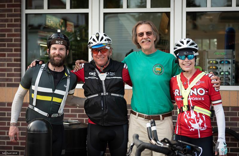 Brad Smith, John Jurczynski, Greg Smith, Ann Jurczynski