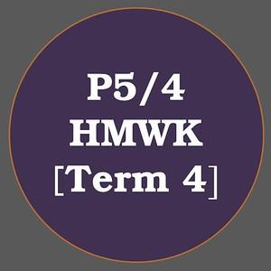 P5/4 HMWK T4
