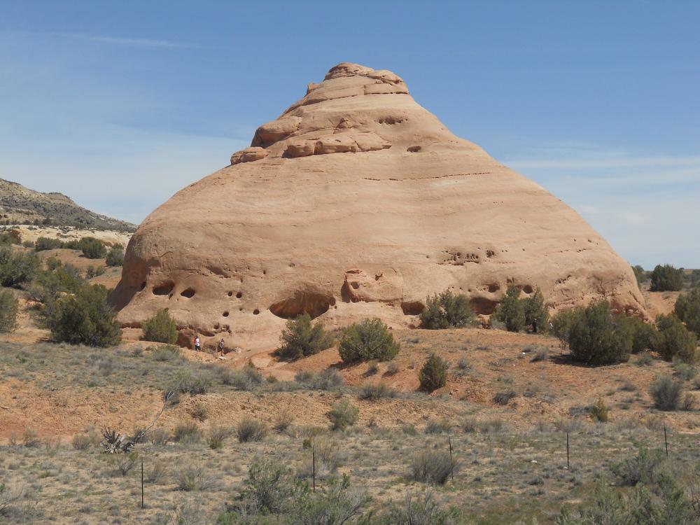 . The scenery at Castle Rocks on Kokopelli\'s Trail in eastern Colorado. Handout Photo